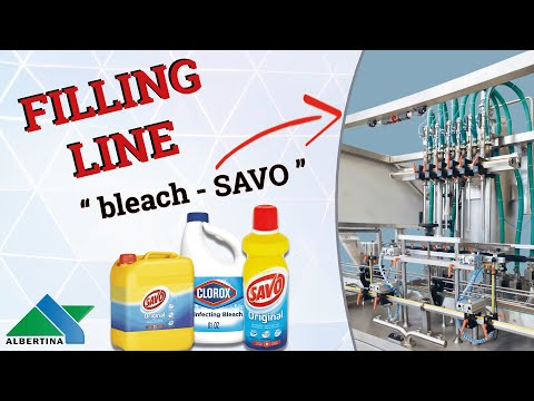 Albertina - Complete filling line for chemicals