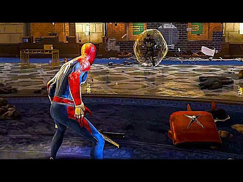 SPIDERMAN PS4 - Boss Fight Gameplay Demo (E3 2018)