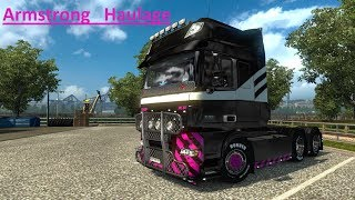 euro truck simulator 2 (Armstrong haulage) DAY 75 with dad