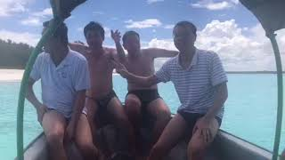 Alex - Mr Dung - Mr Huan in Nemba Island