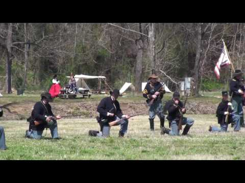 Civil War Re-Enactment - Harmon Field