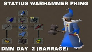 [DMM] STATIUS WARHAMMER PKING (First) / DMM Invitational Day 2 OSRS