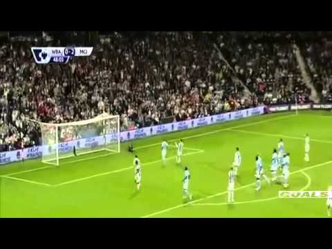 Manchester city vs West brom 3 0 All Goals Highlights 2015