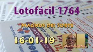 Lotofácil 1764   Magnus Dei Sorte
