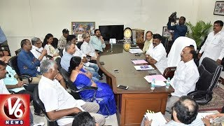 Minister Talasani Holds Meeting With Telugu Film Industry JAC | Casting Couch and RGV Issues