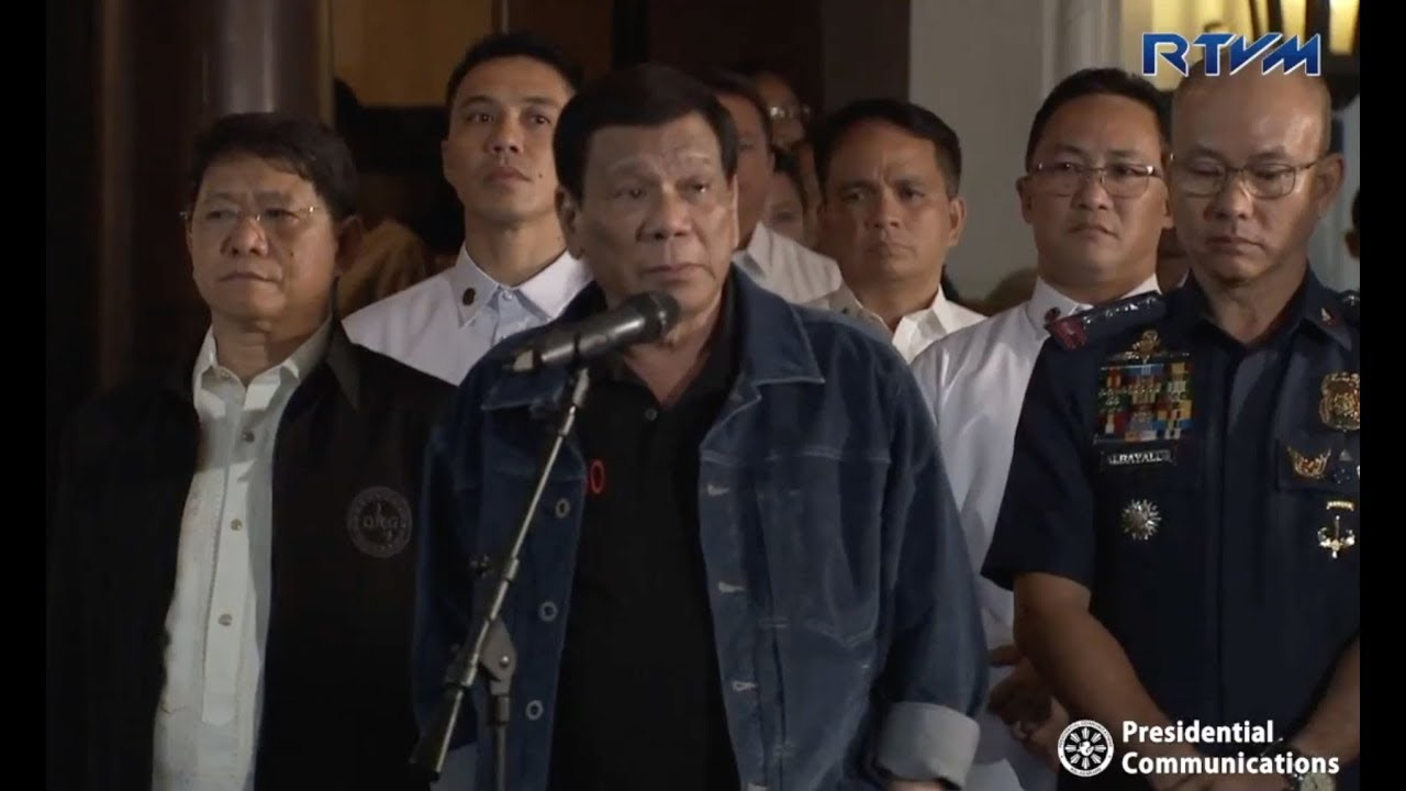 In profanity-laden outburst, Duterte threatens to kill 'crooked cops'