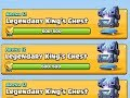Clash Royale 3x LEGENDARY KING'S CHEST OPENING მოულოდნელი ლეგენდა MP3