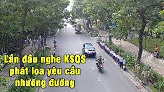 Tổng hợp các đoàn xe KSQS, CSGT chạy tiền trạm cho đoàn xe tang cố thủ tướng - Military convoy