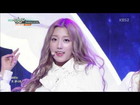 [HD 1080p] 160429 Lovelyz - Fondant + Destiny @ Music Bank Comeback Stage