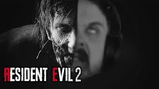STREAMERS REACT TO RESIDENT EVIL 2 REMAKE - Scary/ Funny Moments! #2