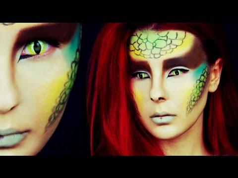Halloween makeup tutorial 2014 (Reptiles) by Anastasiya Shpagina