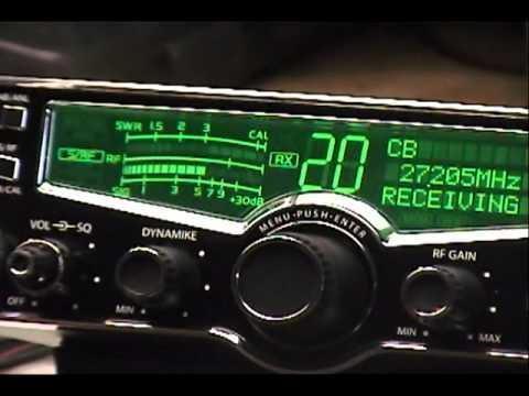 Cobra 29LX with RFX75 and TRB-X3 Echo