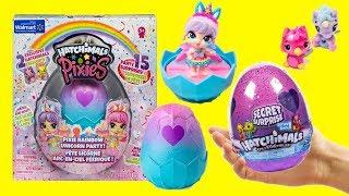 Hatchimals Pixie Rainbow Unicorn Party Exclusive Season 6 Secret Surprise