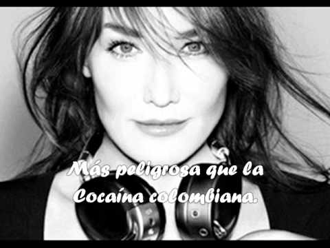 Carla bruni- Tu es ma came ( Español)