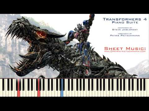 Transformers 4: Age of Extinction - Piano Suite (All Themes from the Original Soundtrack)