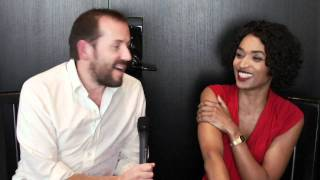 Death in Paradise's Ben Miller and Sara Martins