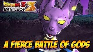 Dragon Ball Z: Battle of Gods - Dragon Ball Z: Battle of Z - PS3/X360/Vita - A Fierce Battle of Gods (trailer)
