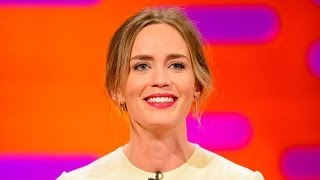EMILY BLUNT Knows She Has a Cute Baby - The Graham Norton Show on BBC AMERICA