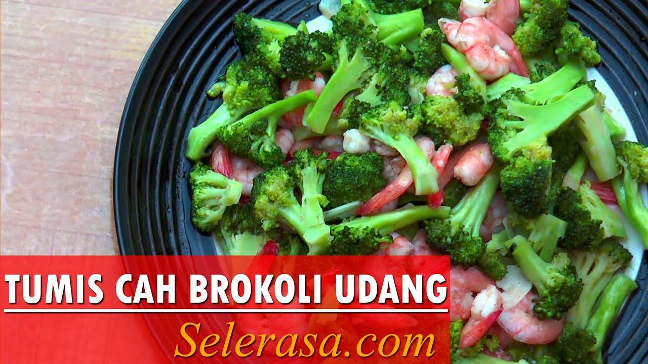 Resep Cah Brokoli Udang Tumis Cah Brokoli Udang