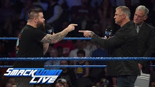 Kevin Owens challenges Shane McMahon to a Ladder Match: SmackDown LIVE, Sept. 24, 2019