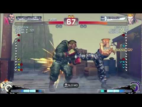 ACEEIRIN (Guile) vs Kojima (Boxer) - AE 2012 Matches *1080p*