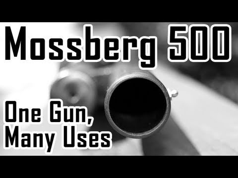 Mossberg 500 Shotgun: One Gun. Many Uses
