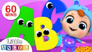 ABC Song | Phonics Song, Finger Family, Johny Johny + More Nursery Rhymes & Kids Songs Little Angel