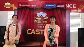 """[Casting TTDH 5] """"Hotgirl 48"""" và """"hotgirl 49"""" quyết tâm chọc cười Trấn Thành Trường Giang"""