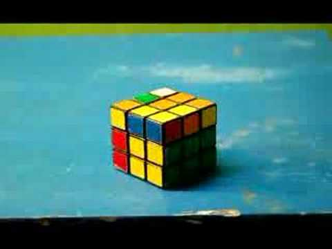 Watch Rubiks Cube Stop Motion Solve