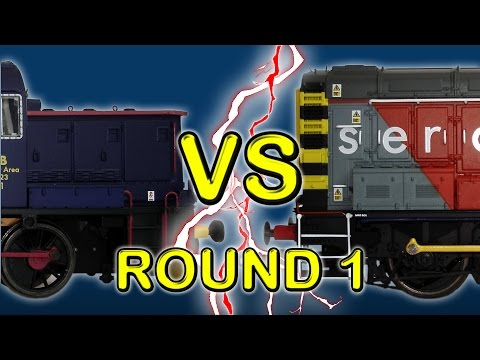 LOCO STRENGTH: Mirror, mirror, on the wall. Who is the strongest shunter... of them all? In Round One, we find out just that! - - - Battle of the Shunters: https://www.youtube.com/playlist?list=...