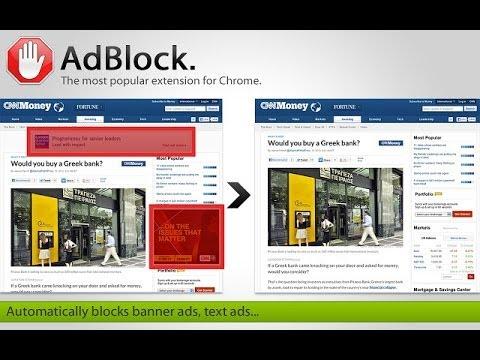 Review of Adblock - Google Chrome App