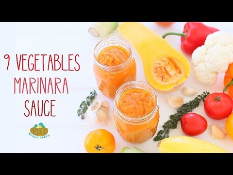 9 Vegetables Marinara Sauce