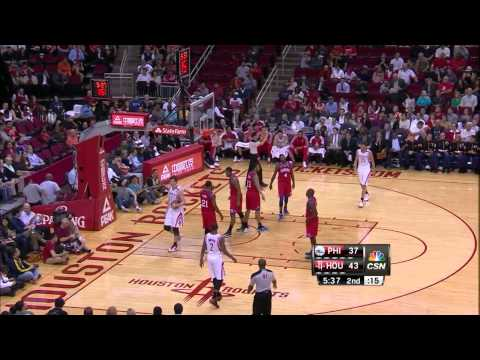 James Harden vs 76ers (Full Highlights) [19.12.2012]
