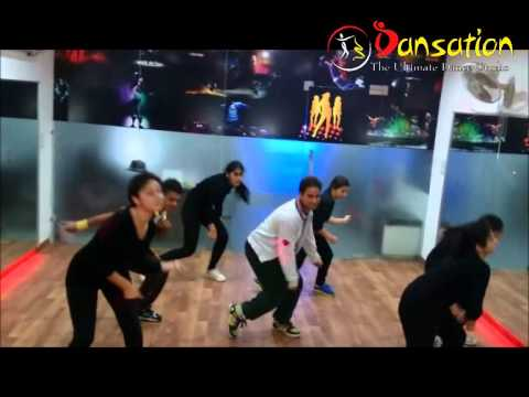 Kamli Kamli dhoom 3 Choreography Bollywood Hip-hop By Dansation Dance Studio Mohali. video
