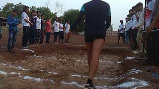 RPF SI constable Long jump boys and girls practice (increase step-by-step Sunderlal 6264212131)