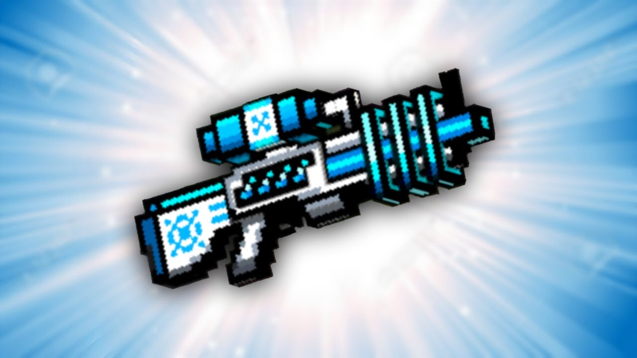 Make Ray Gun Pixel Gun 3d Freeze Ray