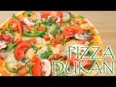 Pizza Dukan - Receta Fase Crucero