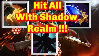Shadow Realm + Flak Cannon with Agha || Ability Draft || Dota 2