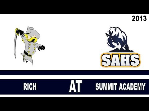 Football: Rich High School vs Summit Academy Utah