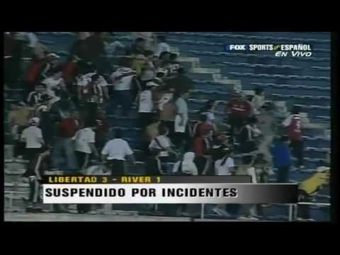river vs libertad incidentes