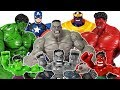 Thanos appeared with Red & Gray Hulk, Go Avengers~! Spider Man, Thor, Iron Man,  Captain America