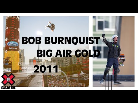 X Games 17: Bob Burnquist takes Gold in Skateboard Big Air