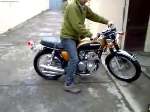 CB 500 four 1971