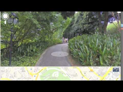 google street view now inside singapore's attractions
