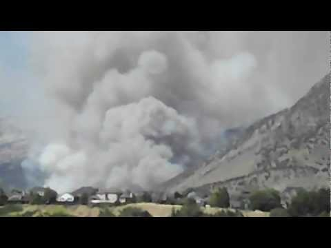 Alpine Utah wildfire
