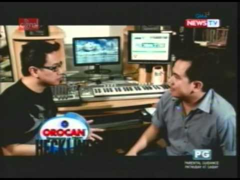 HeckLines GMANEWSTV with the VoiceMaster Oct 29, 2011