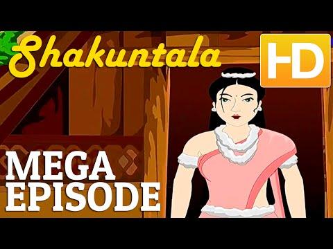 Hindi Animated Stories Hd   Shankunthala Animated Hindi Stories For Kids   Mega Episode video
