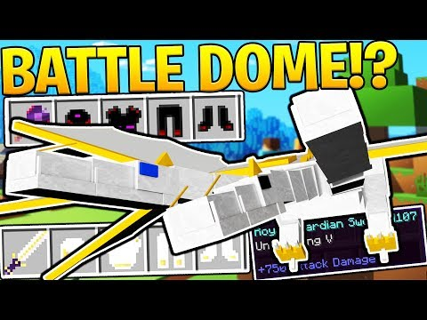 HOW TO MAKE THE ULTIMATE WEAPON - MINECRAFT ORESPAWN MODDED BATTLEDOME
