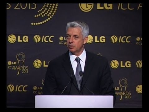 ICC Awards 2013 Full Show- Dhoni player of year