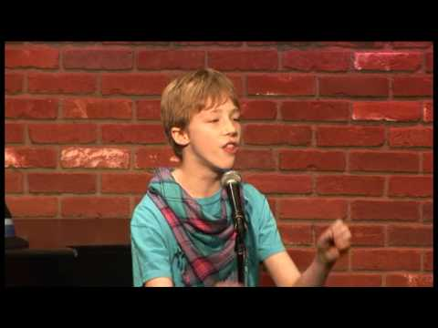 Joey Luthman 12 yr.old Comedian Video